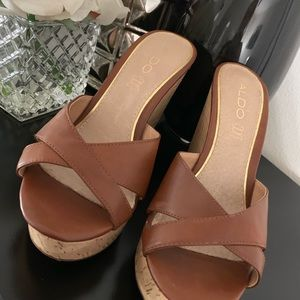 NWOT small wedge heels